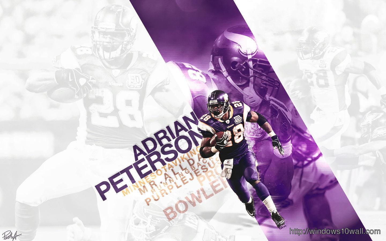 Adrian Peterson 2012 Football Wallpaper