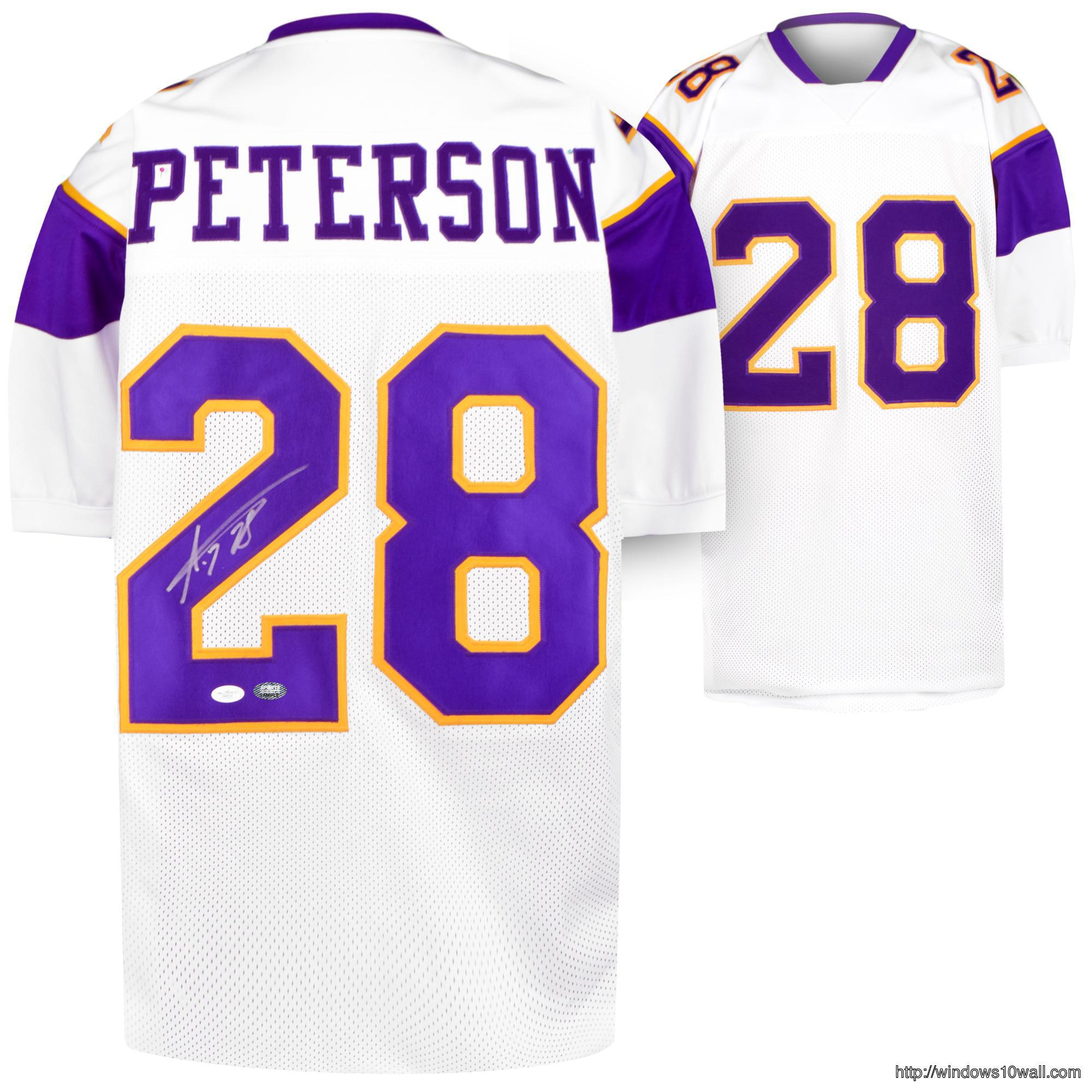 adrian-peterson-autographed-jersey