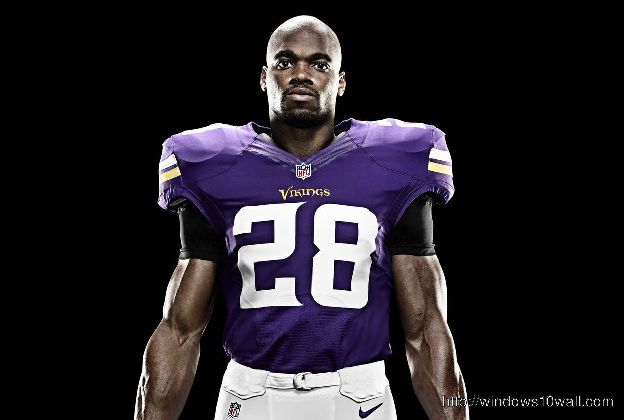 Adrian Peterson Football Jersey