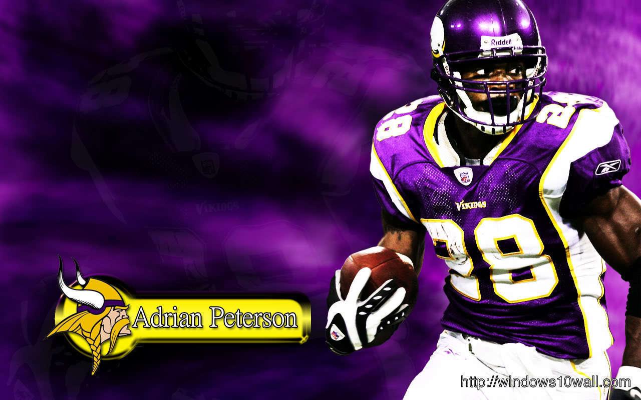 Adrian Peterson Football Wallpaper 2012