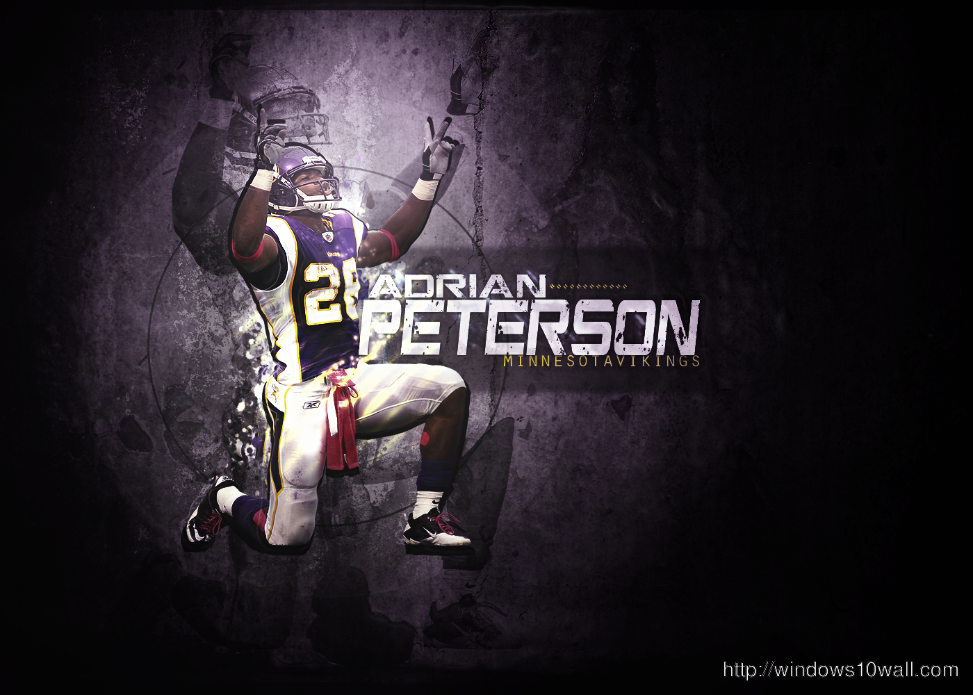 Adrian Peterson Football Wallpaper Hd