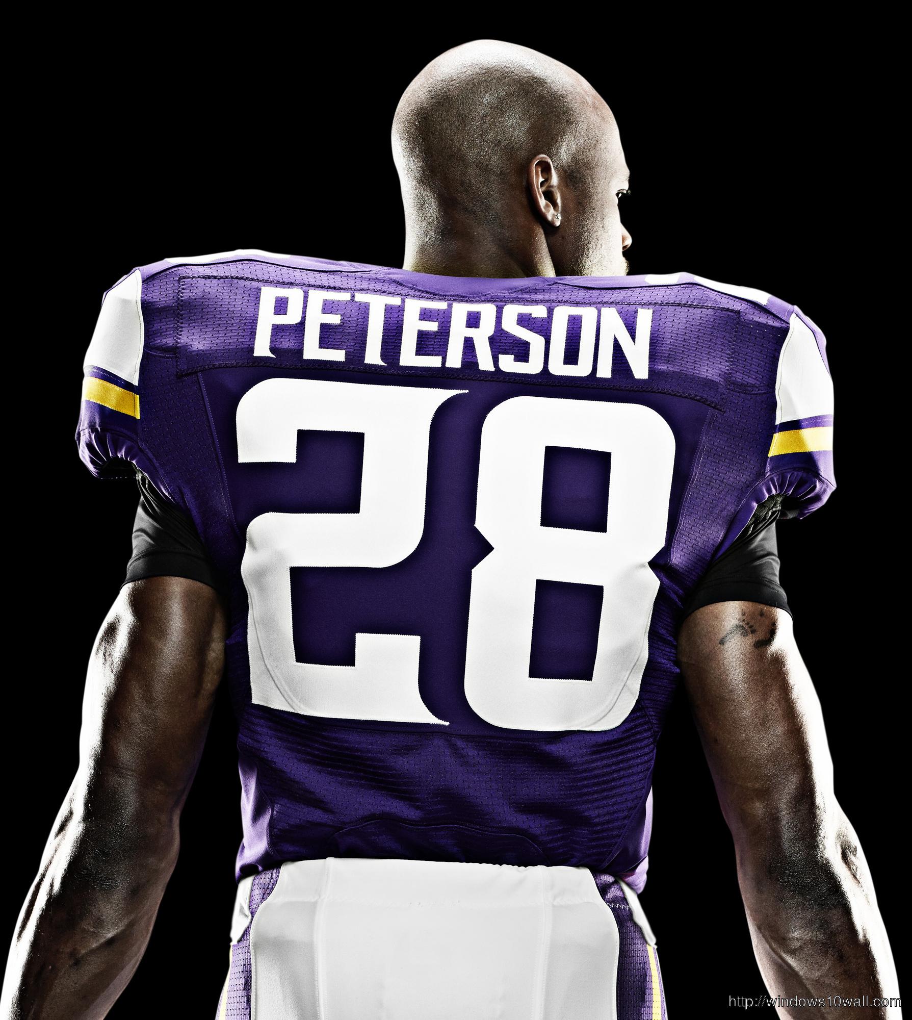 Adrian Peterson Giants Jersey