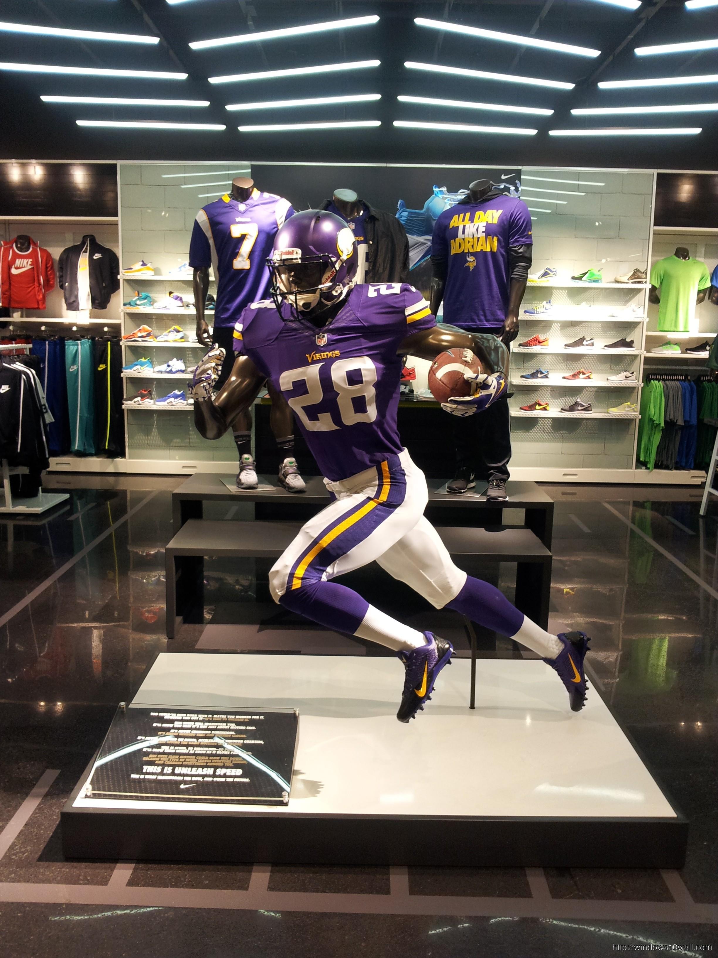 Adrian Peterson Nike Elite Jersey