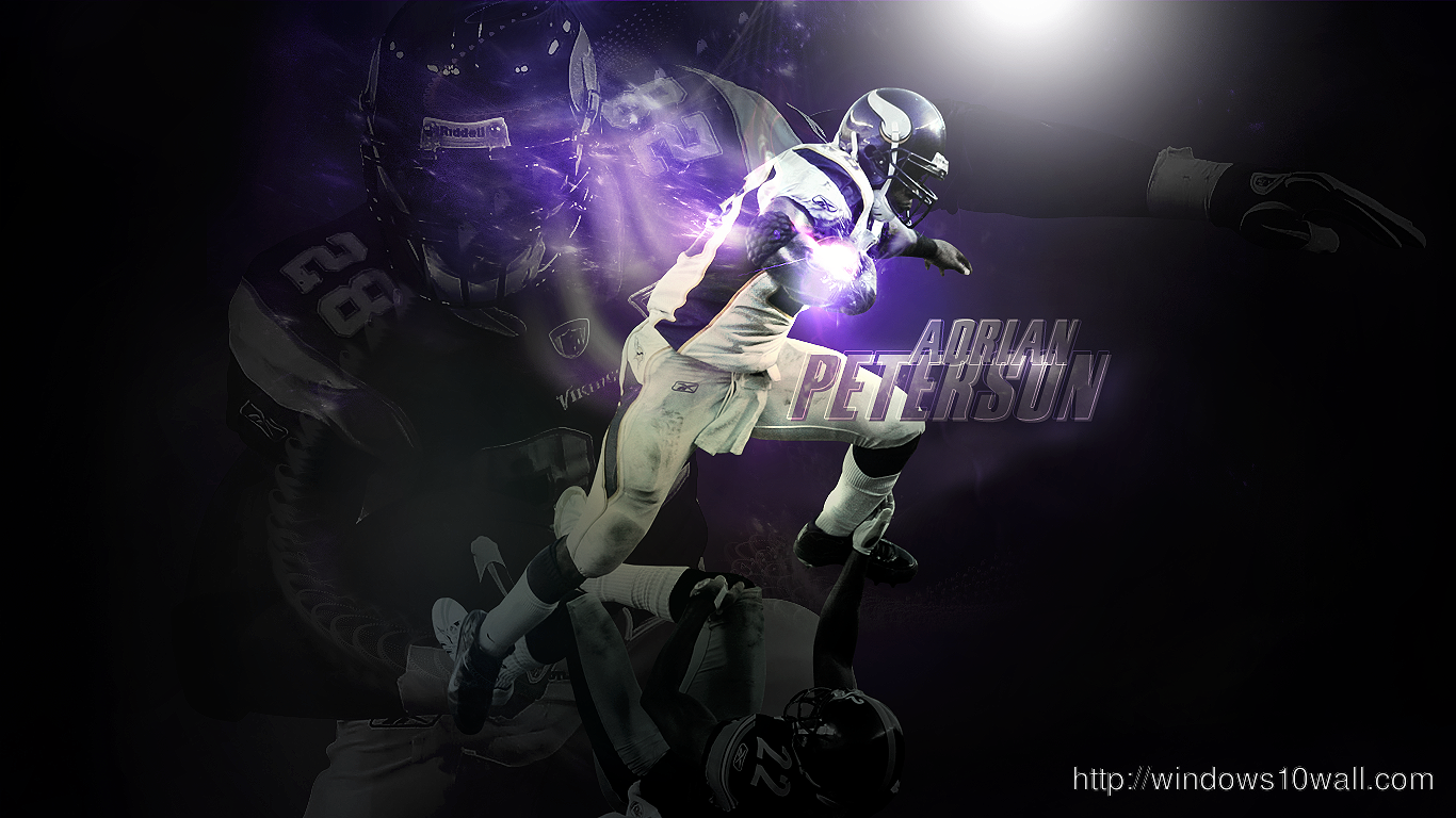 Adrian Peterson Photo Football