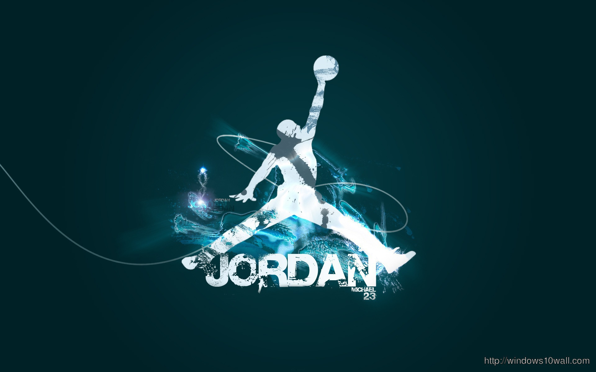 Air Jordan Background Wallpaper
