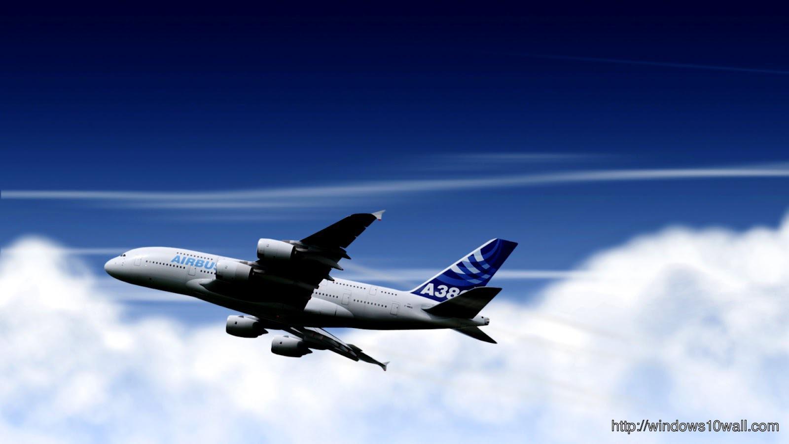 Airbus A380 Hd Plane