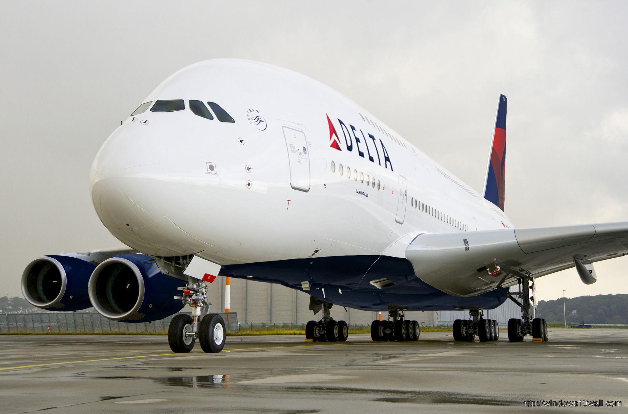 Airbus Delta Plane