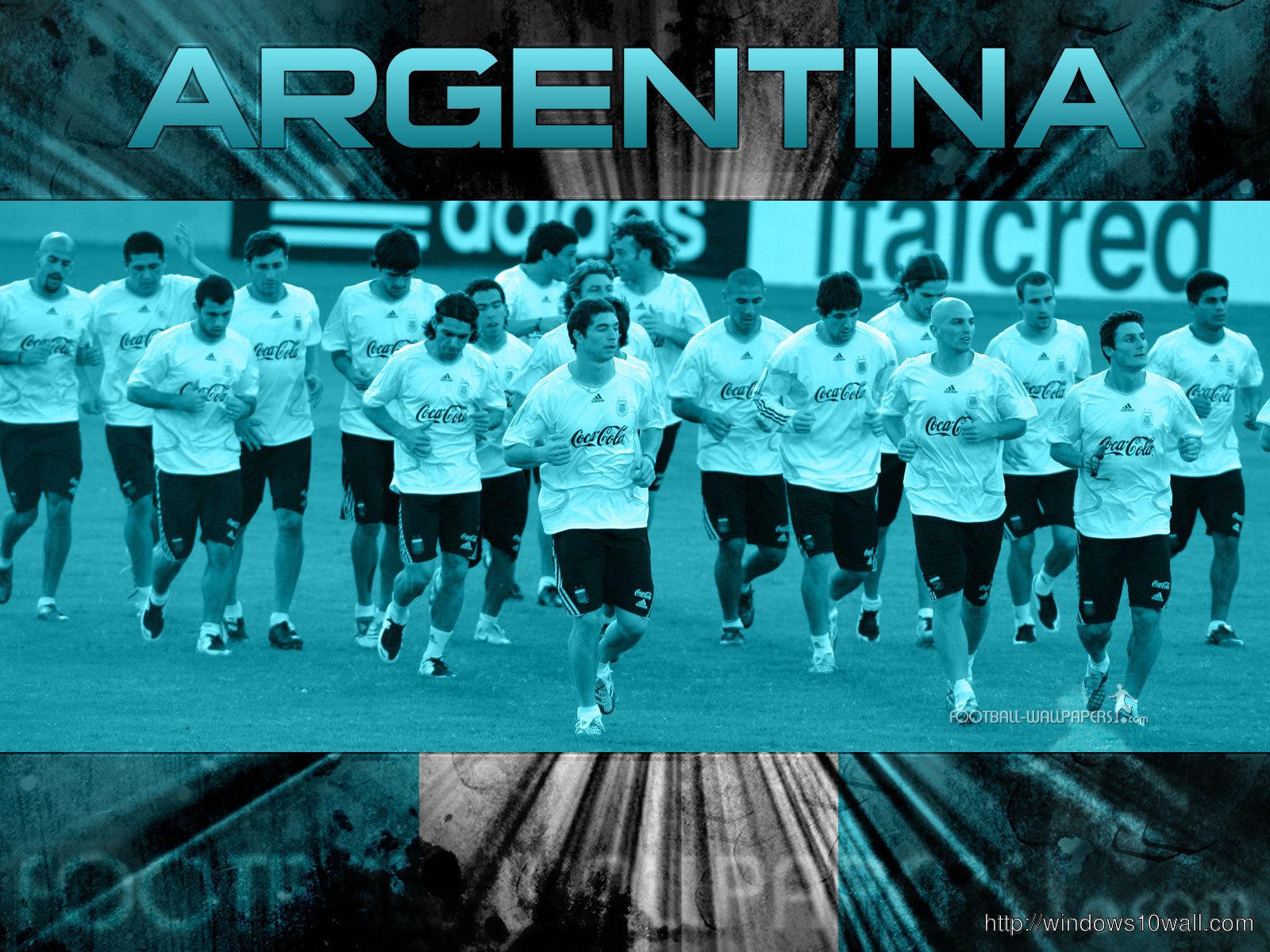 Argentina Football Team Wallpaper