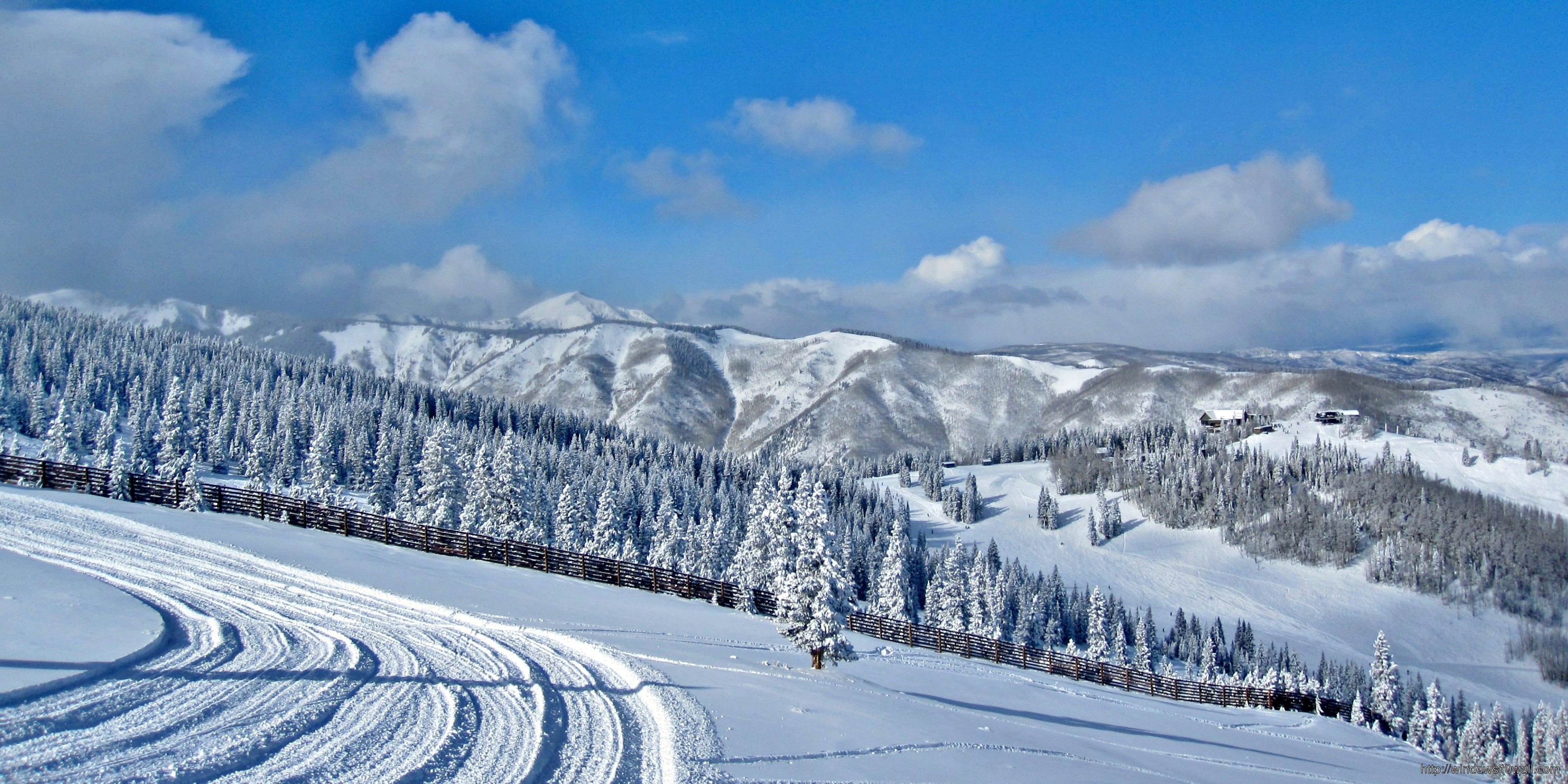 Aspen Colorado Winter Travel Wallpaper