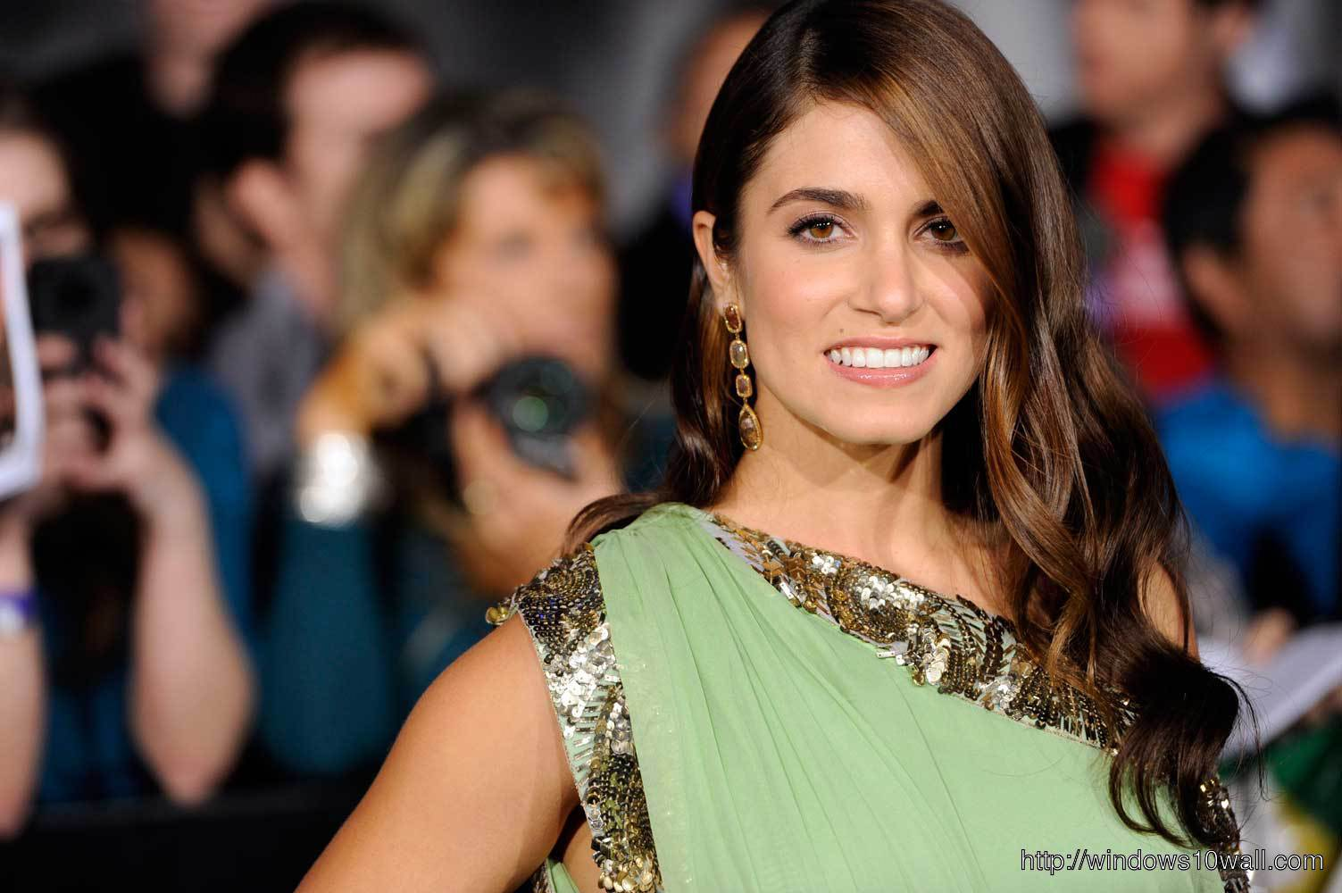 Awesome Nikki Reed Background Pic