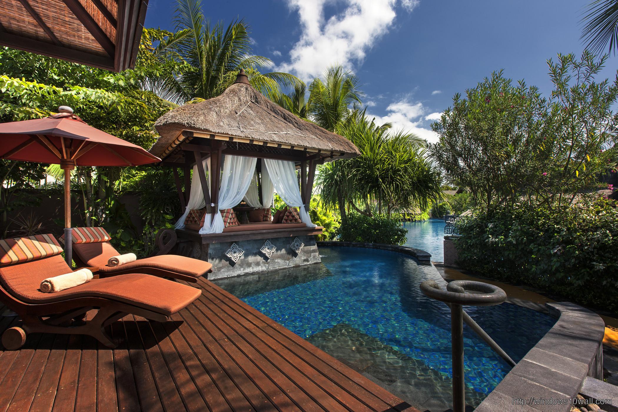 Bali Resorts Rooms Travel Wallpaper
