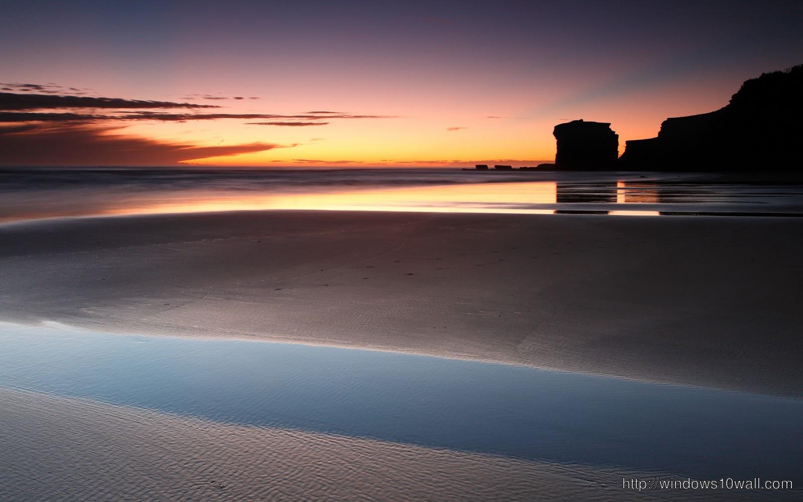 Beach Sunset Wallpaper Background Tumblr Windows 10 Wallpapers