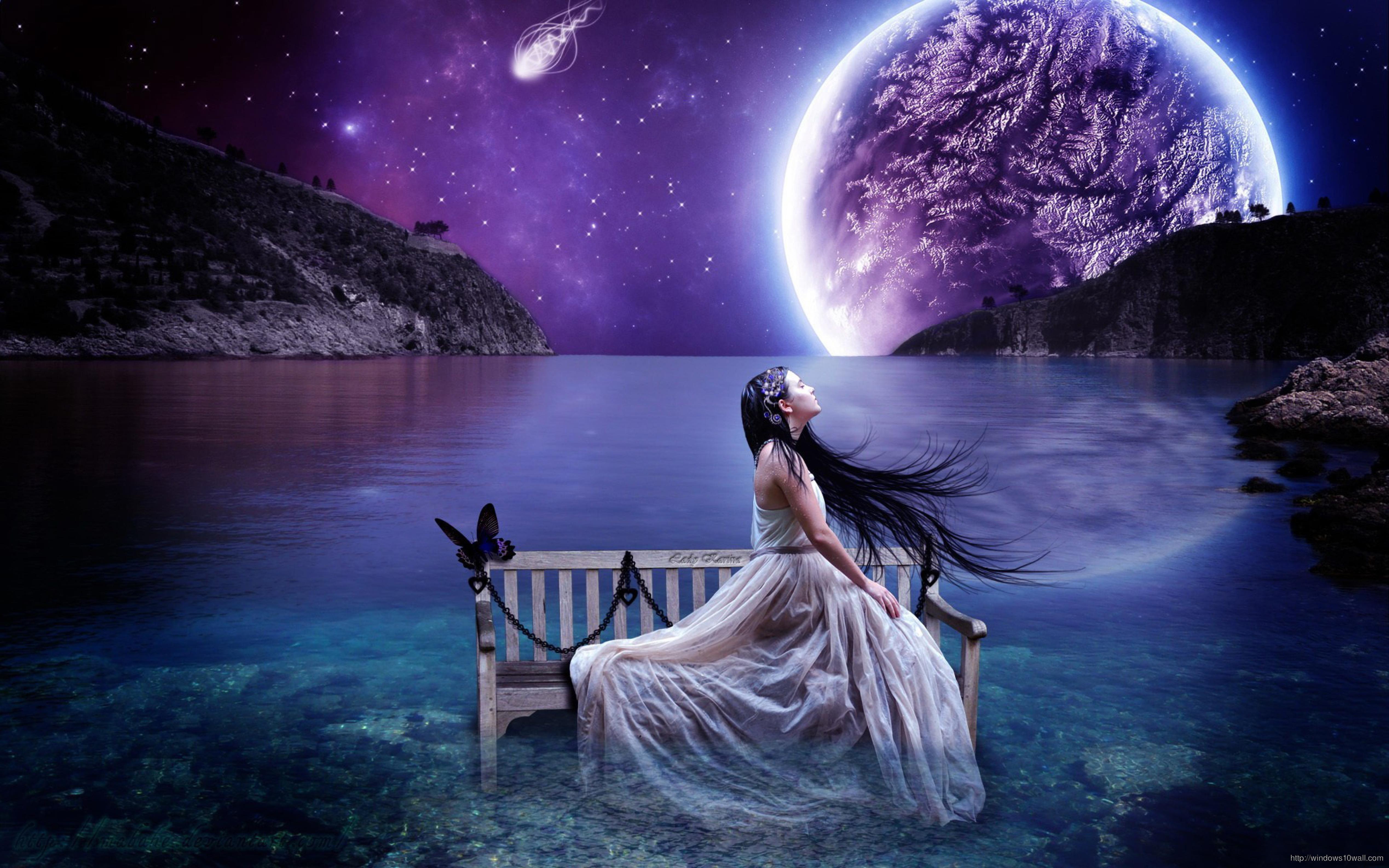 Beautiful Fantasy Girl Wallpaper