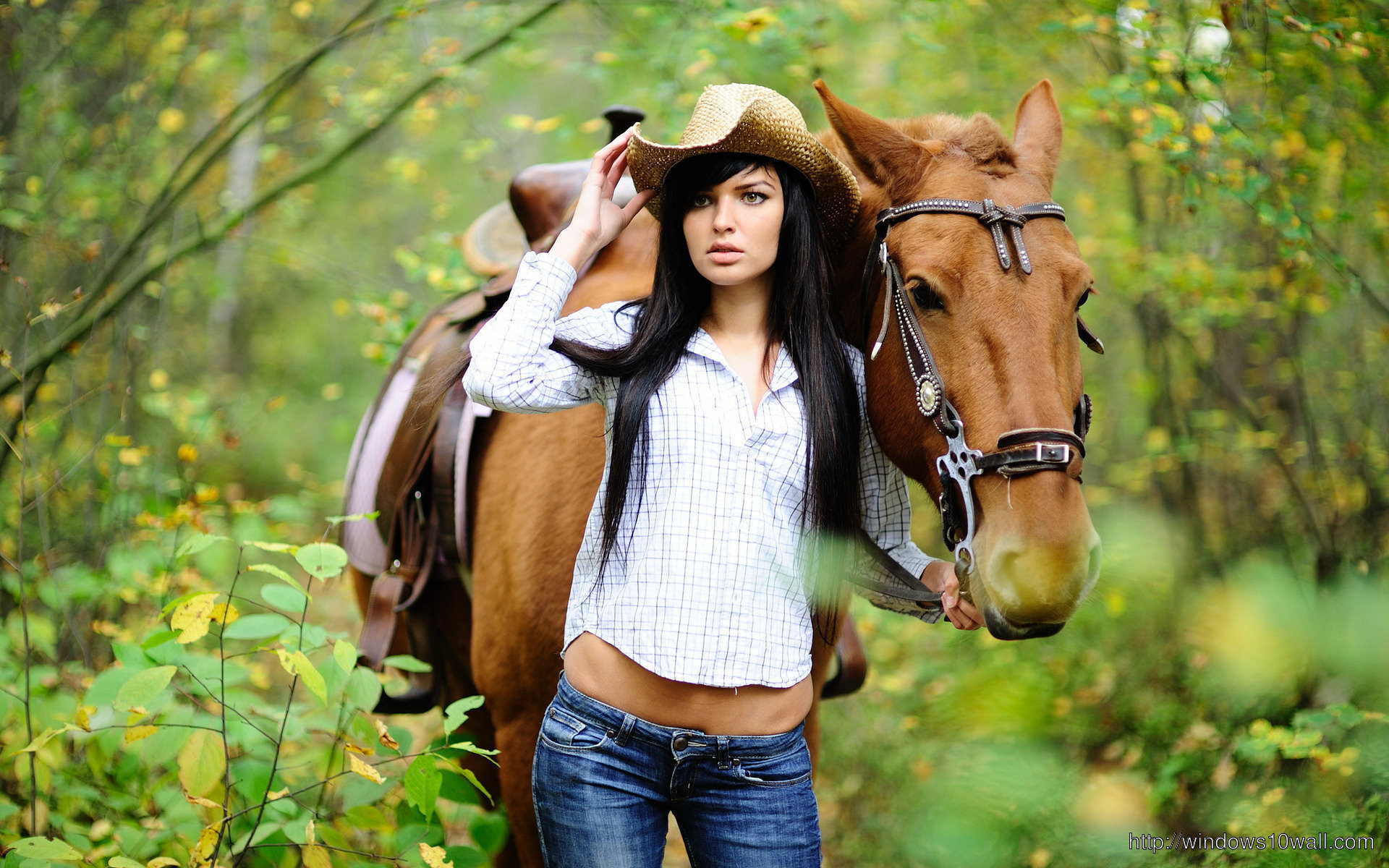Beautiful Girl And Horse Wallpaper Windows 10 Wallpapers