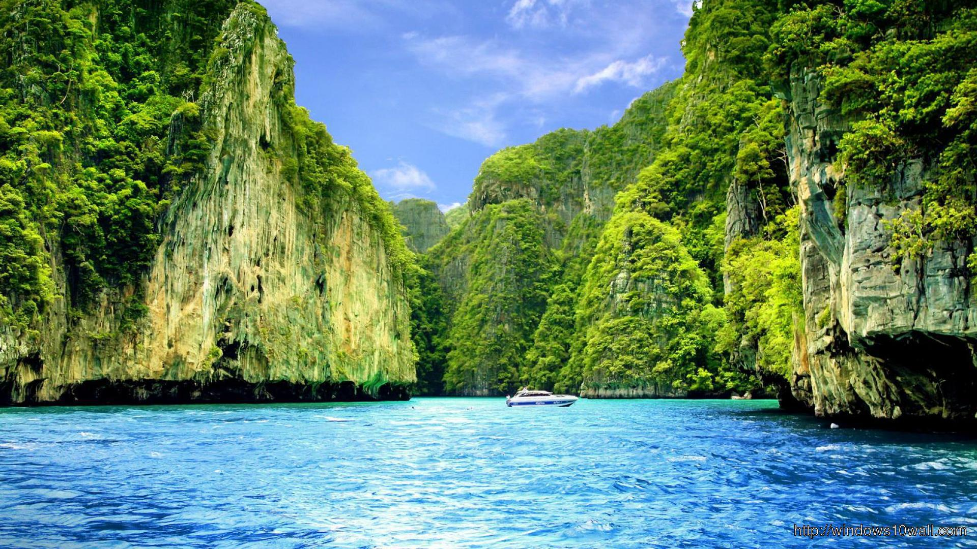Beautiful Islands Wallpaper Windows 10 Wallpapers