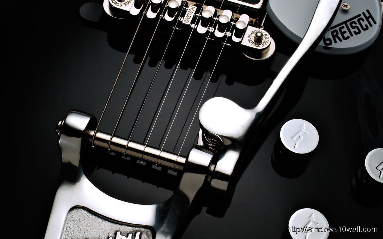 Black Guitar Music Wallpaper Windows 10 Wallpapers