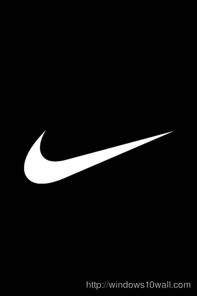 Black Nike Mobile iPhone Wallpaper