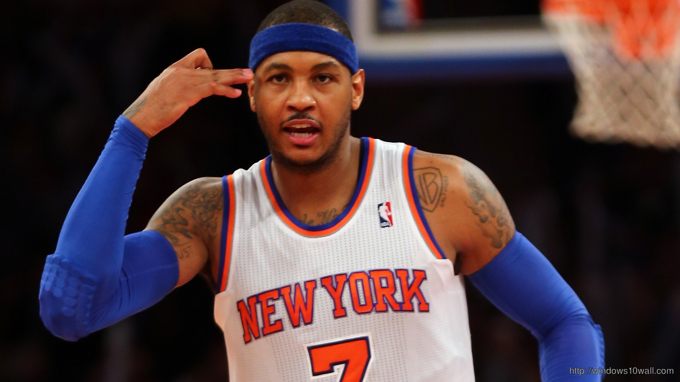 Carmelo Anthony Hd Background Wallpaper