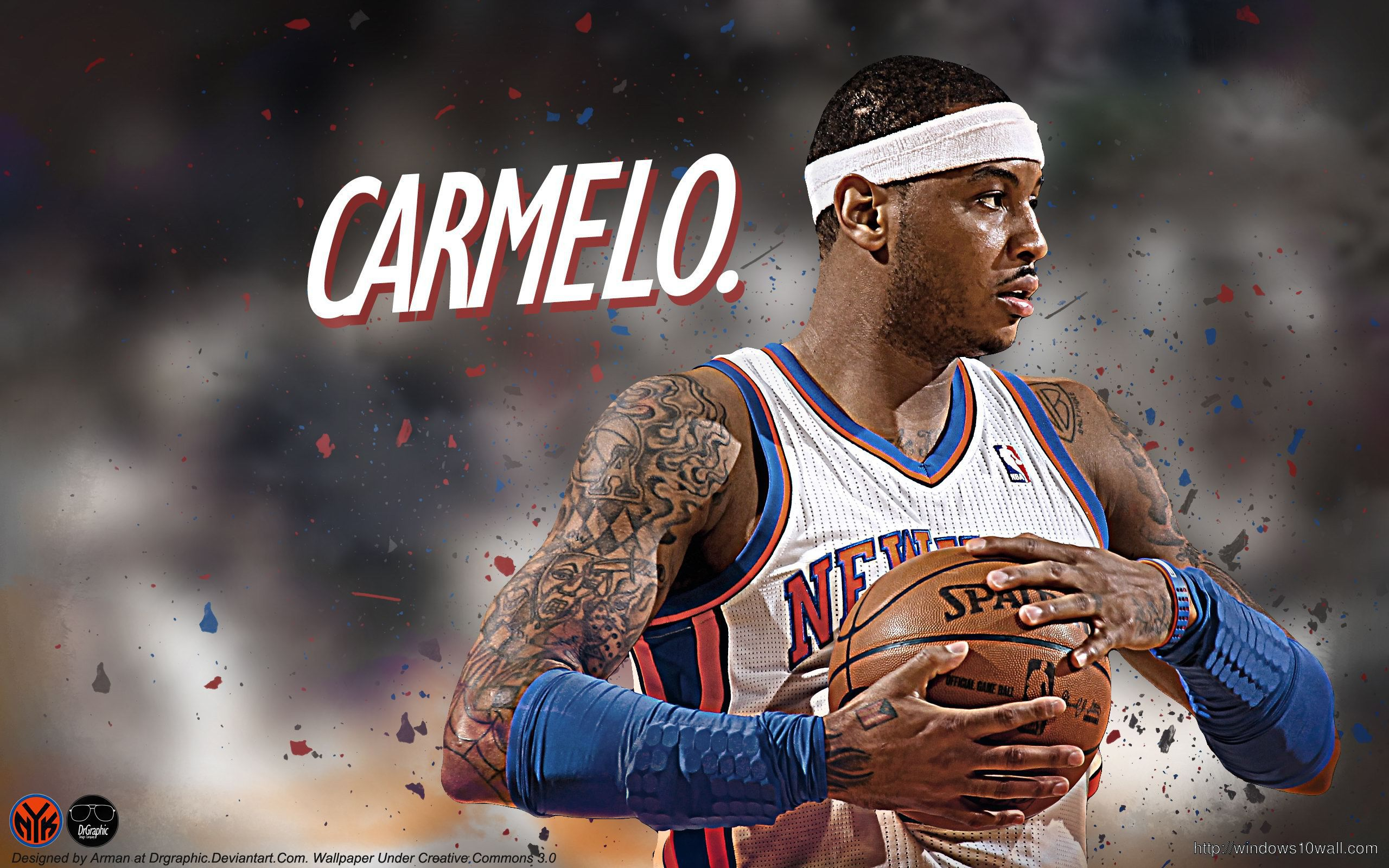Carmelo Anthony in Game HD Wallpaper