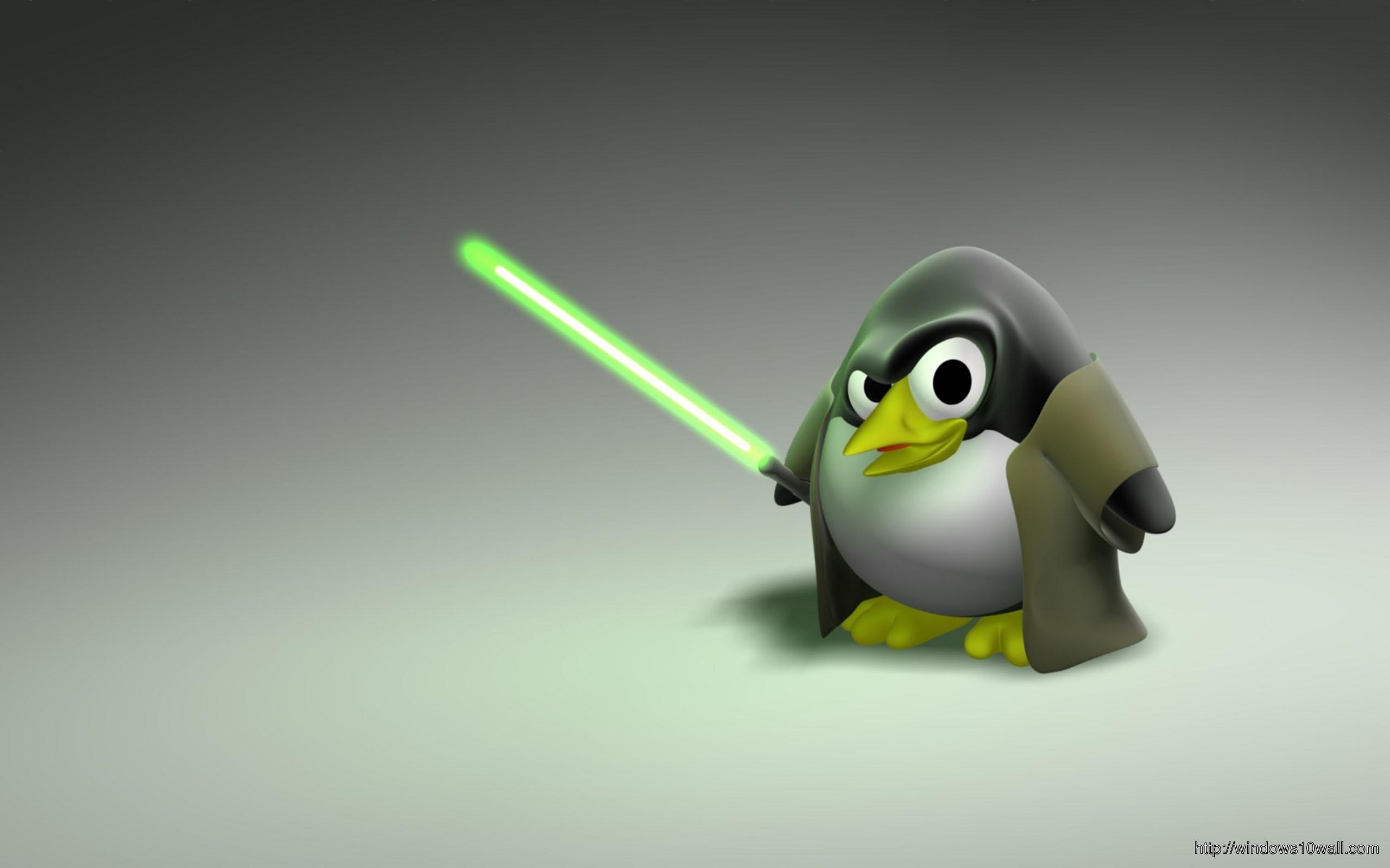 cool-penguin-linux-wallpaper