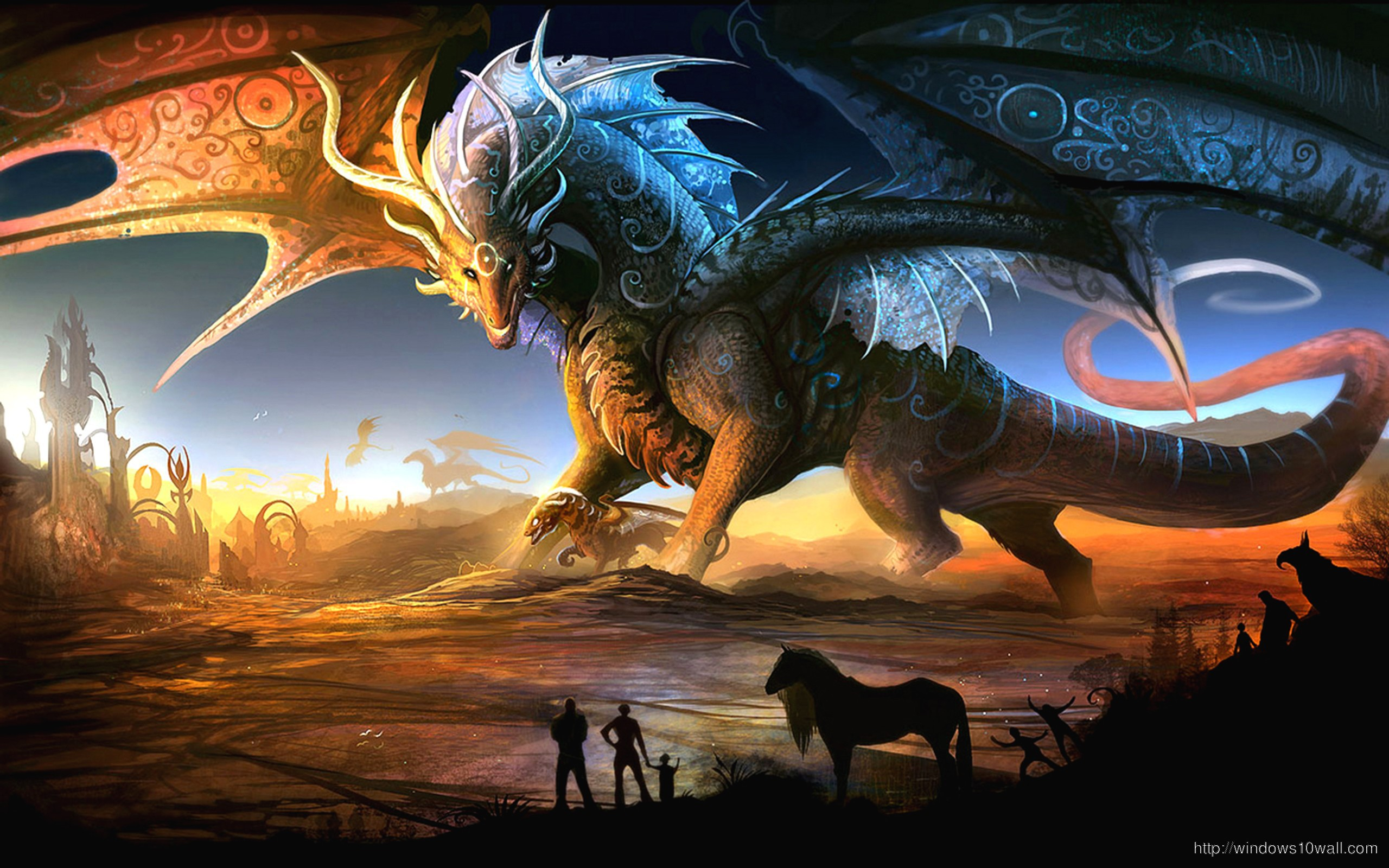 Dragons Fantasy Picture