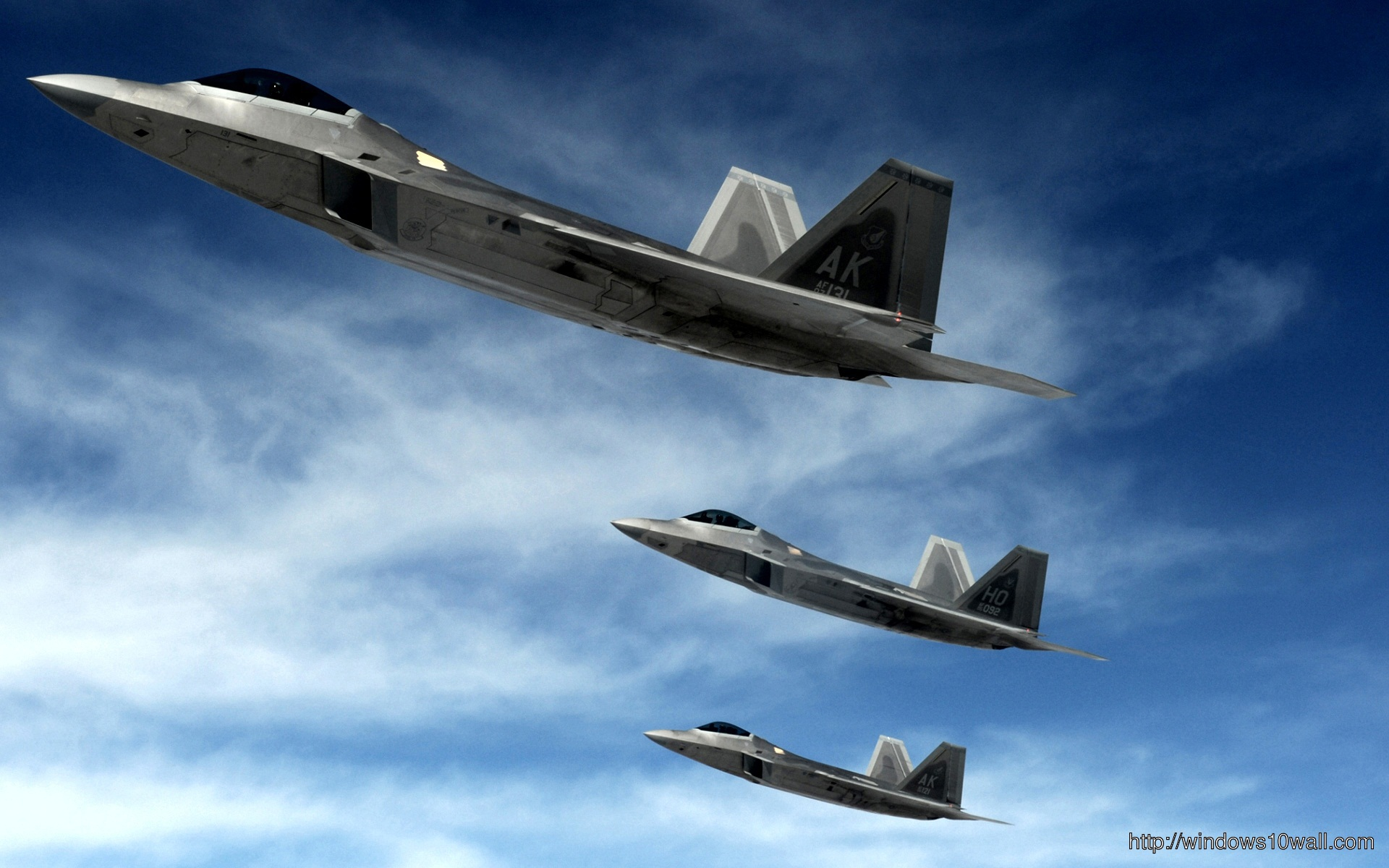 F 22 Raptors Stealth Fighters Plane