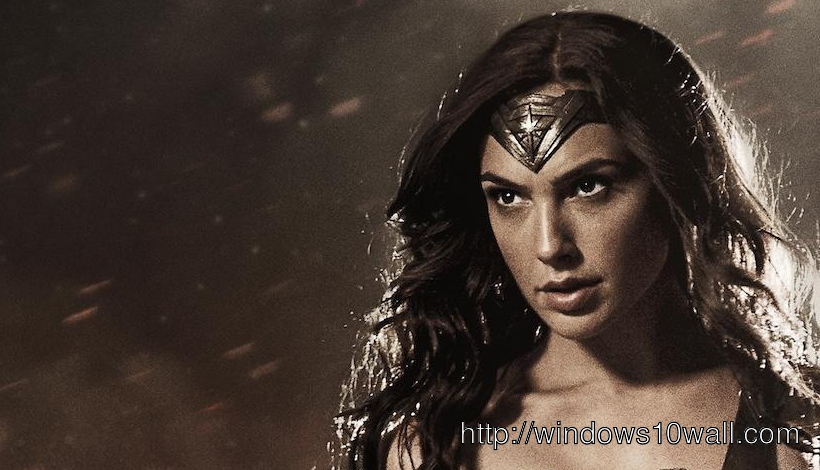 First Look Gal Gadot as Wonder Woman