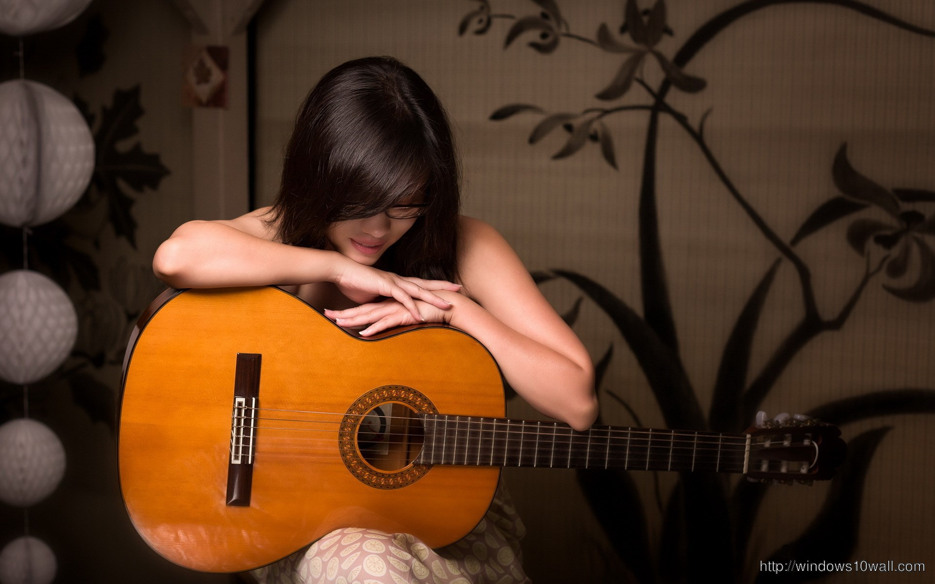 girl-and-guitar-wallpaper