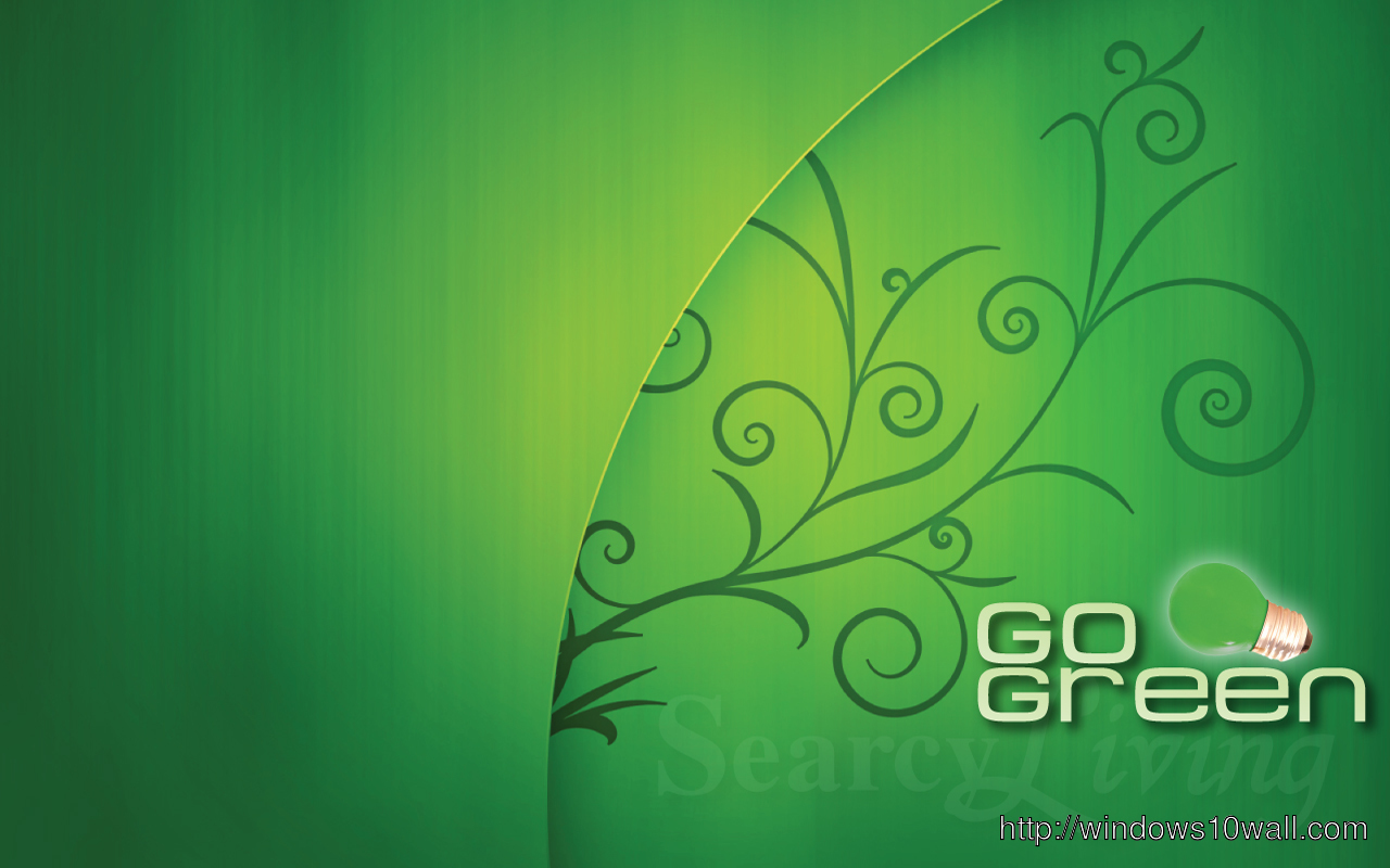 go green background Image