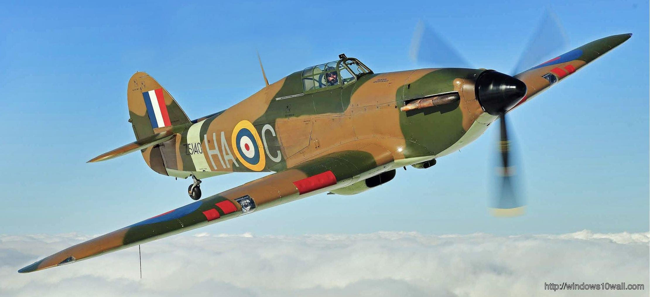 Hawker Hurricane Battle Of Britain Plane