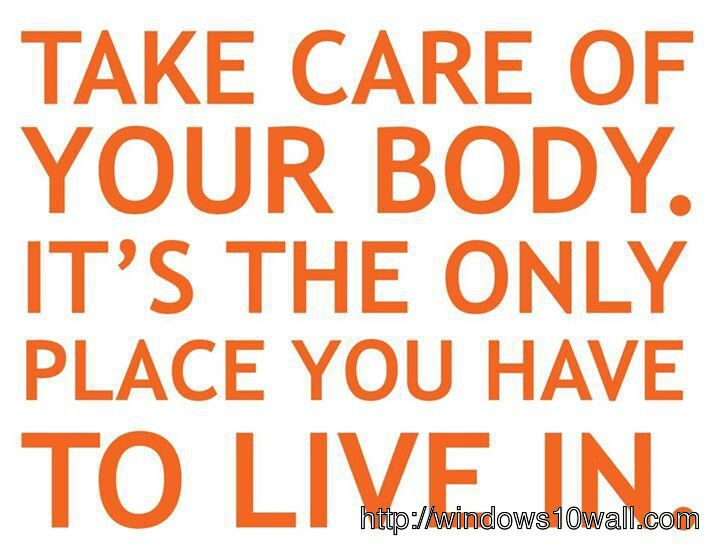healthy living quotes wallpaper