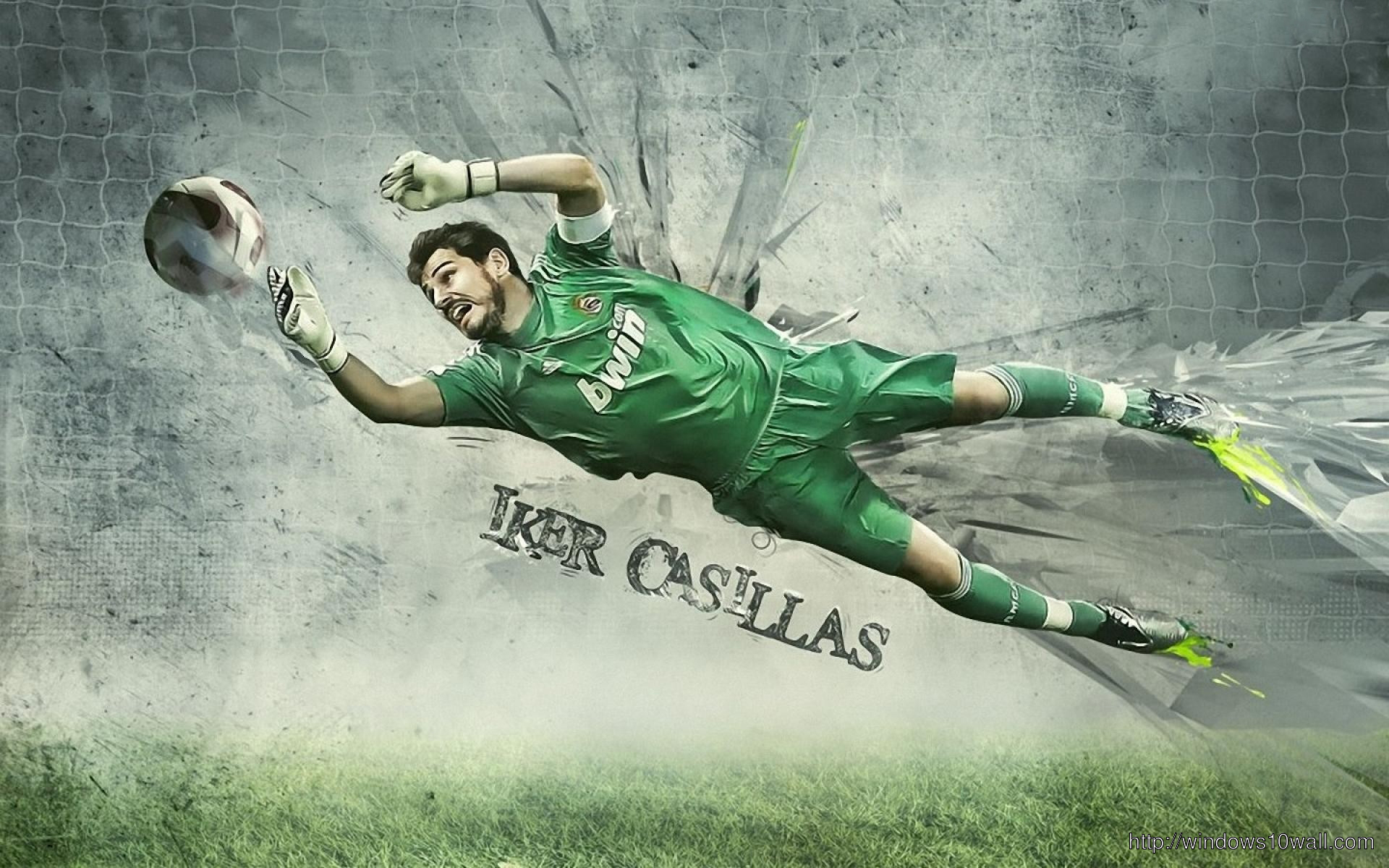 Iker Casillas Action Photo