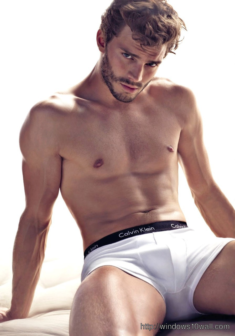 Jamie Dornan In Underwear Wallpaper