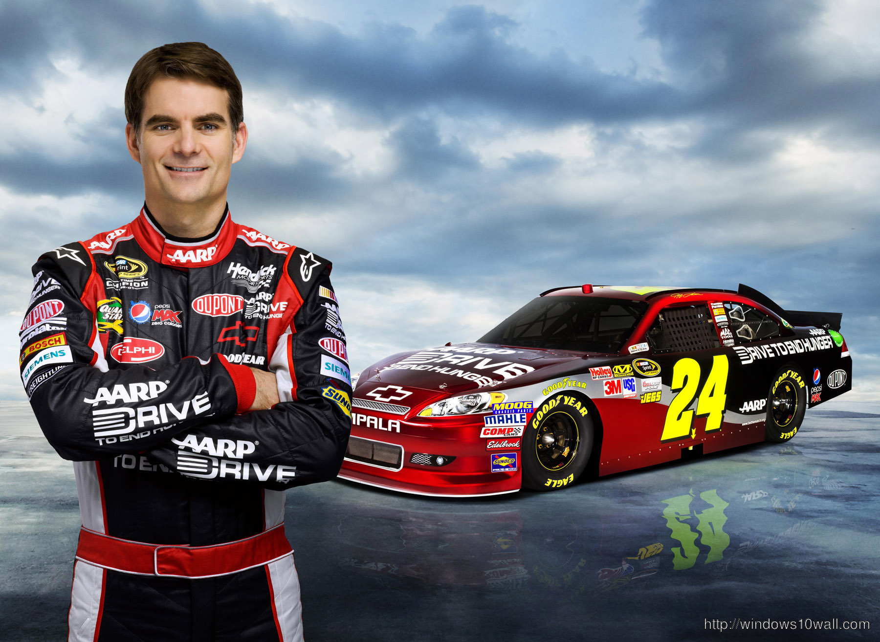 Jeff Gordon HD Background Photo