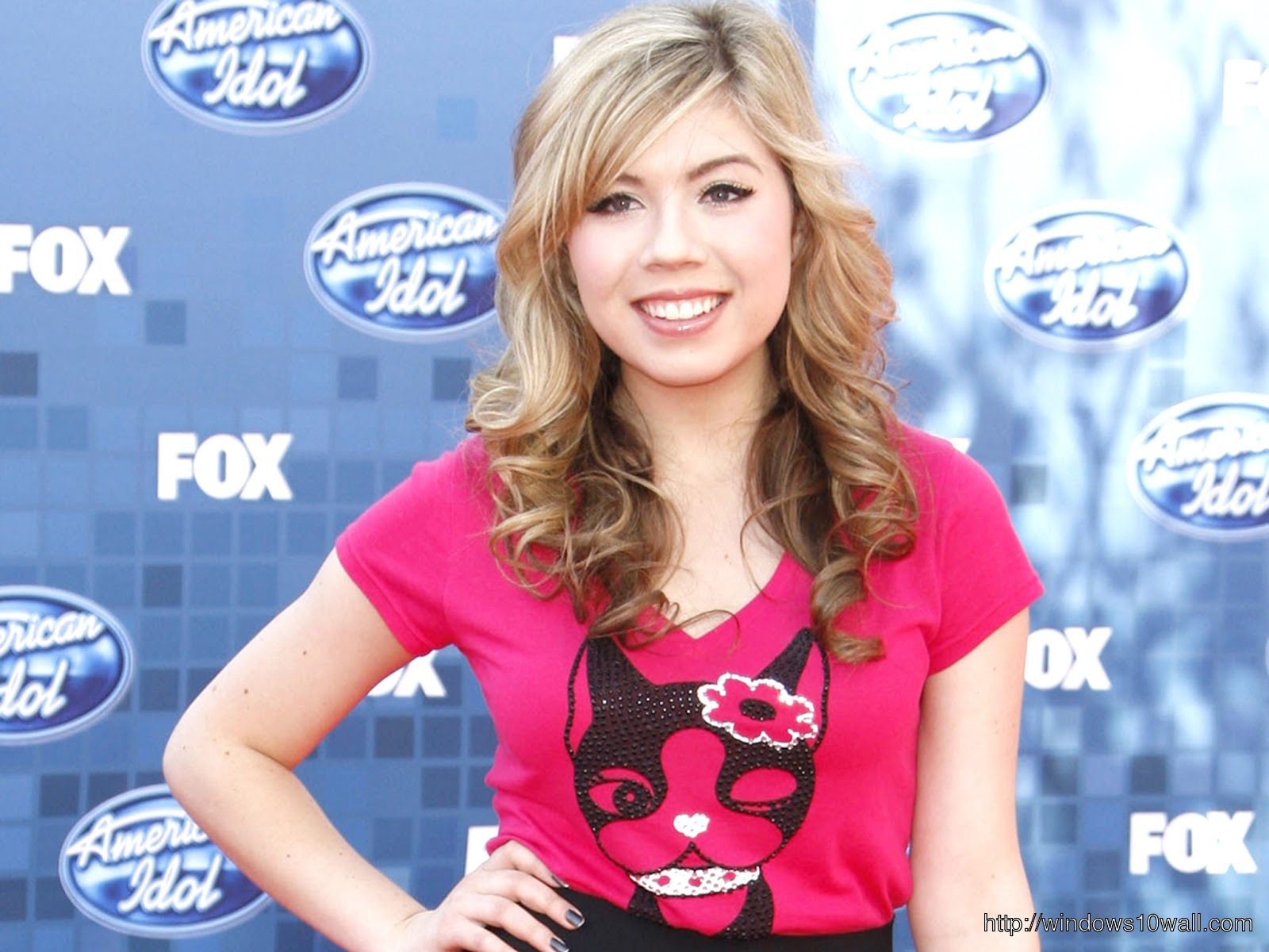 Jennette McCurdy HD Background Wallpaper