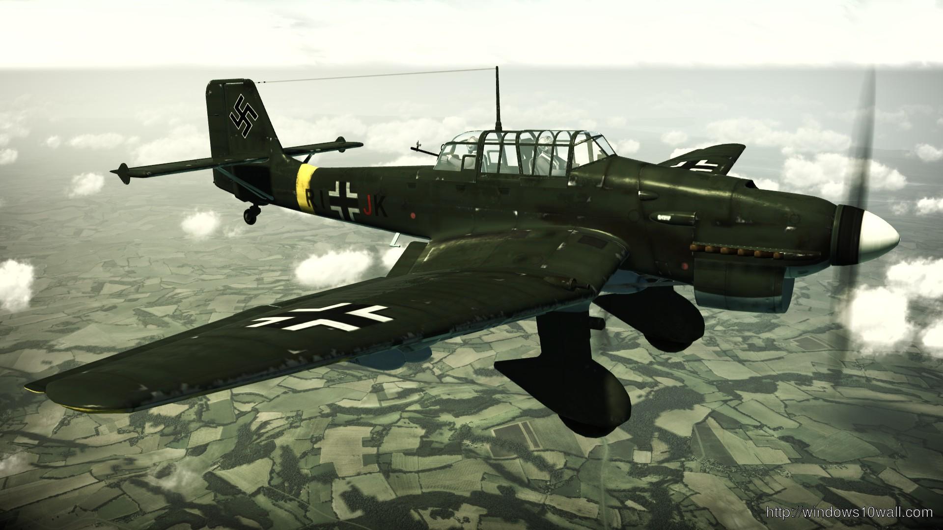 Ju 87 Stuka Plane