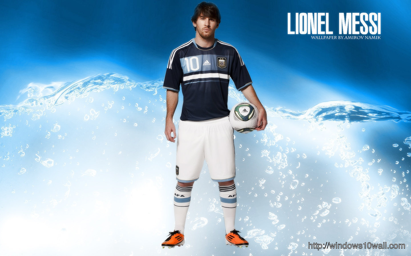 Lionel Messi Football Star of Argentina