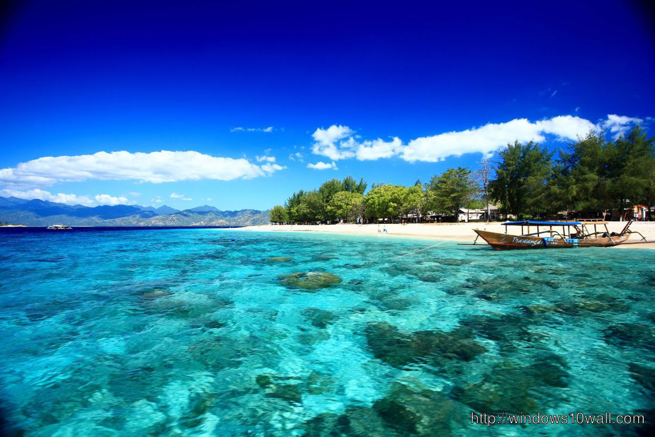 Lombok Gili Trawangan Travel Wallpaper Windows 10 Wallpapers