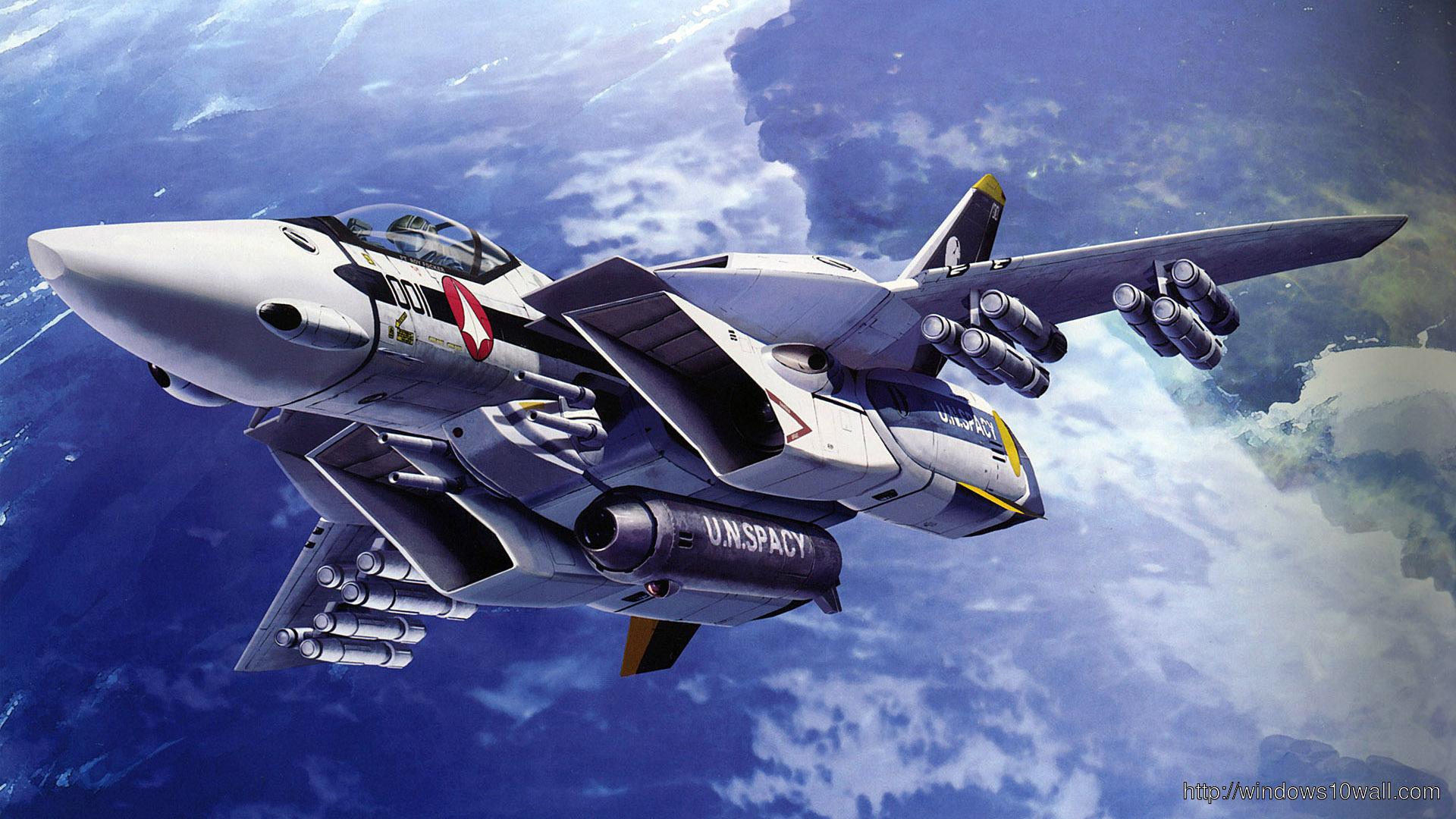 macross-fighter-plane