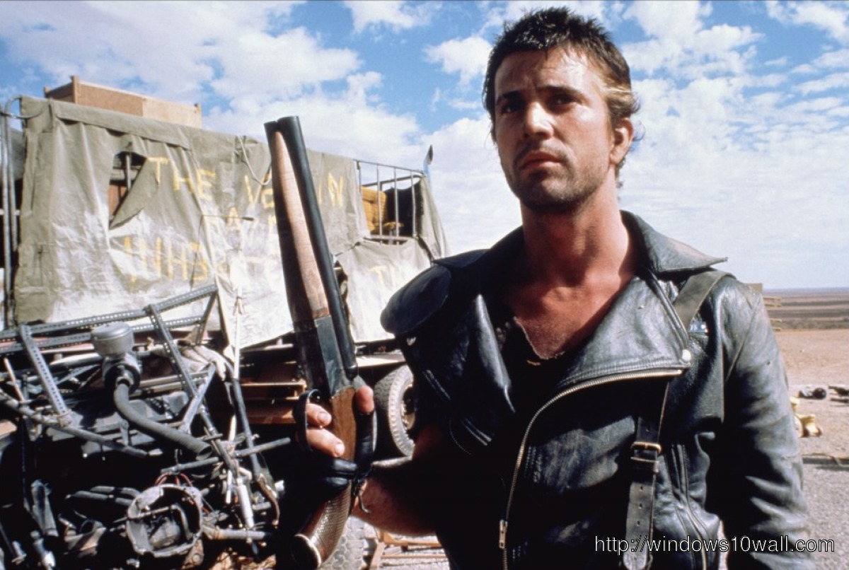 Mad Max Gun Background Wallpaper