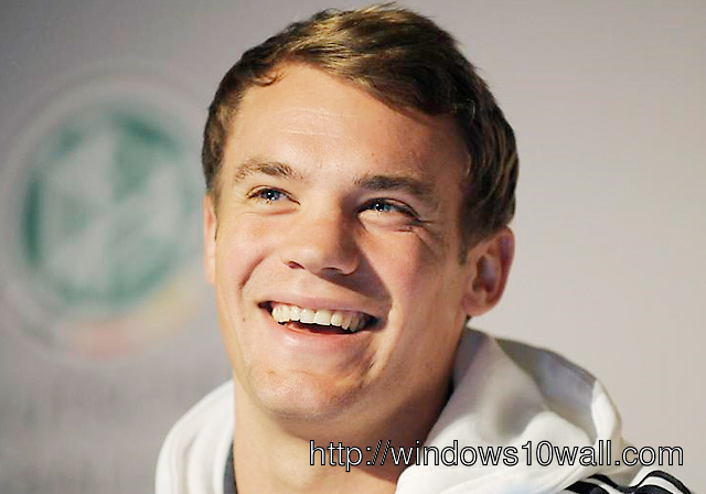 manuel neuer laughing Wallpaper