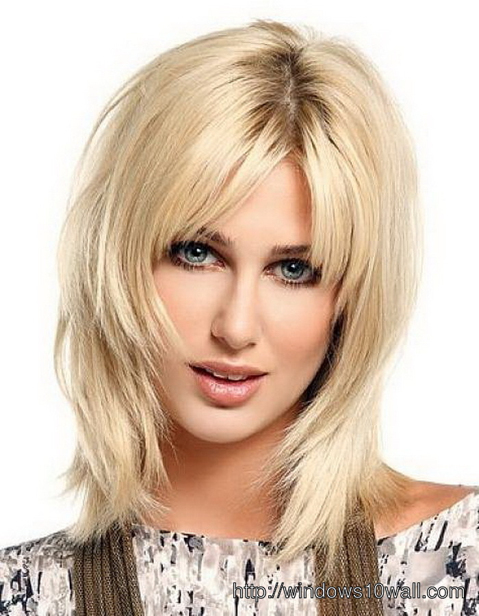 Medium Length Layered Hairstyle Ideas With Thin Hair
