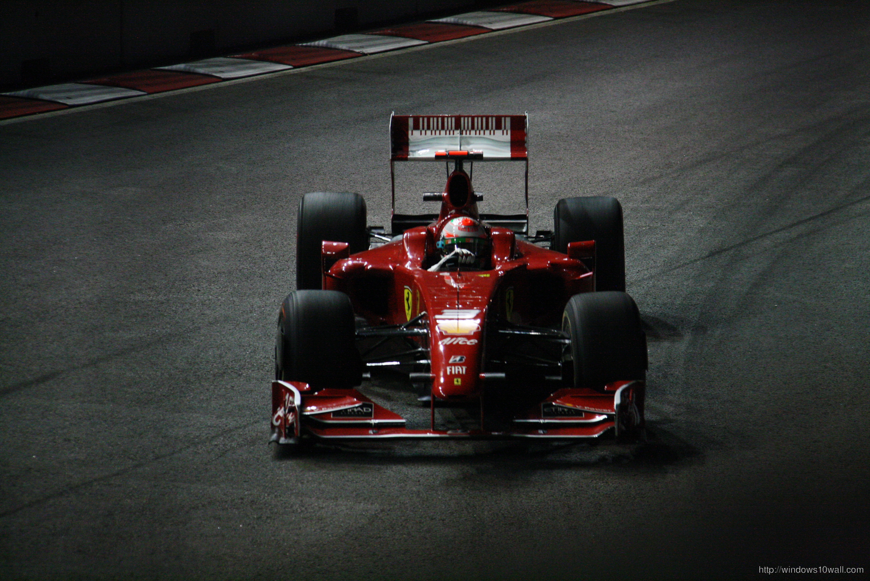 Michael Schumacher Ferrari Car