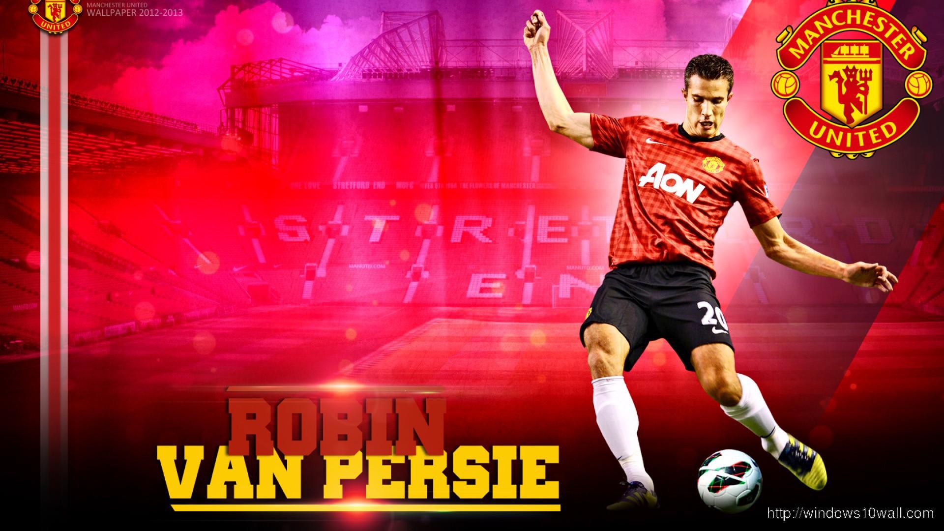 Robin Van Persie Manchester United Wallpaper