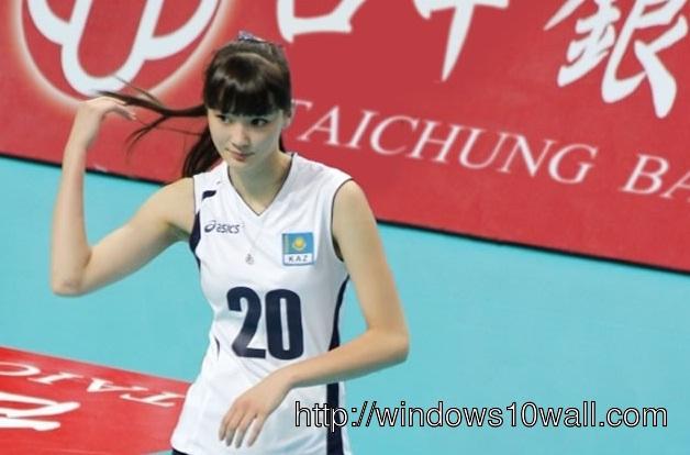 Sabina Altynbekova Wallpaper
