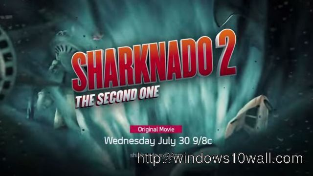 Sharknado 2 Movie Poster Photo