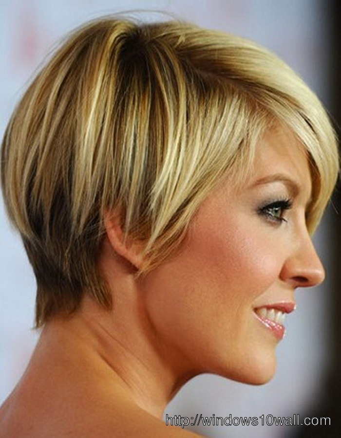 Short Hairstyle Ideas Women For Oval Face And Thick Hair
