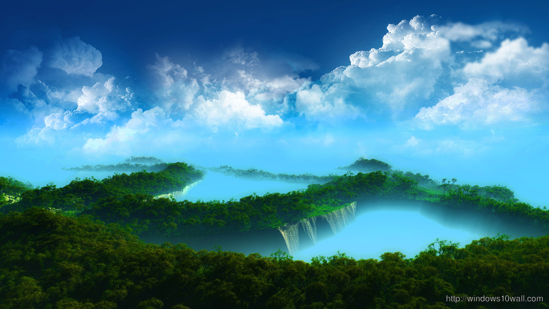 Superb Cloudy Nature wallpaper hd 1080p