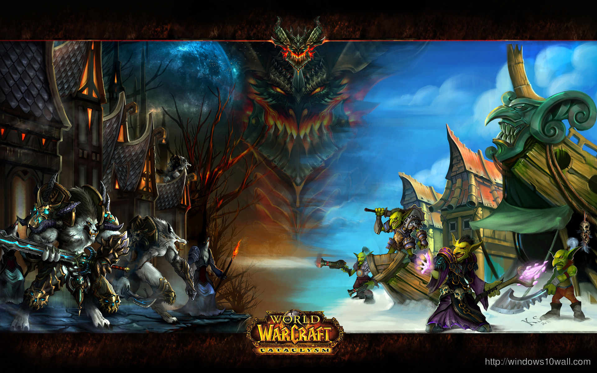 World Of Warcraft Game Wallpaper Windows 10 Wallpapers