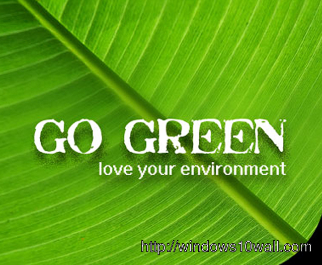 World Environment Day Go Green Background Wallpaper